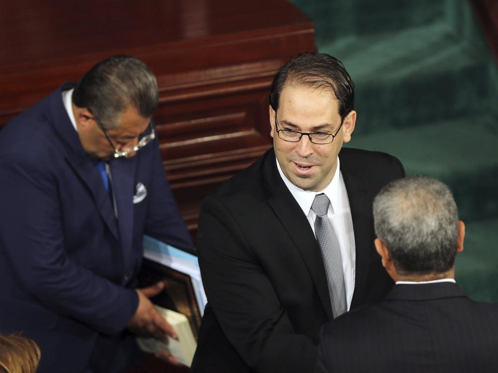 Votación de investidura del presidente tunecino.