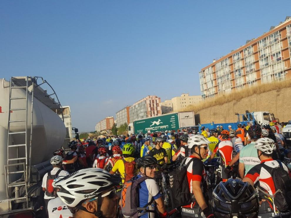 Cientos de ciclistas se manifiestan para pedir respeto