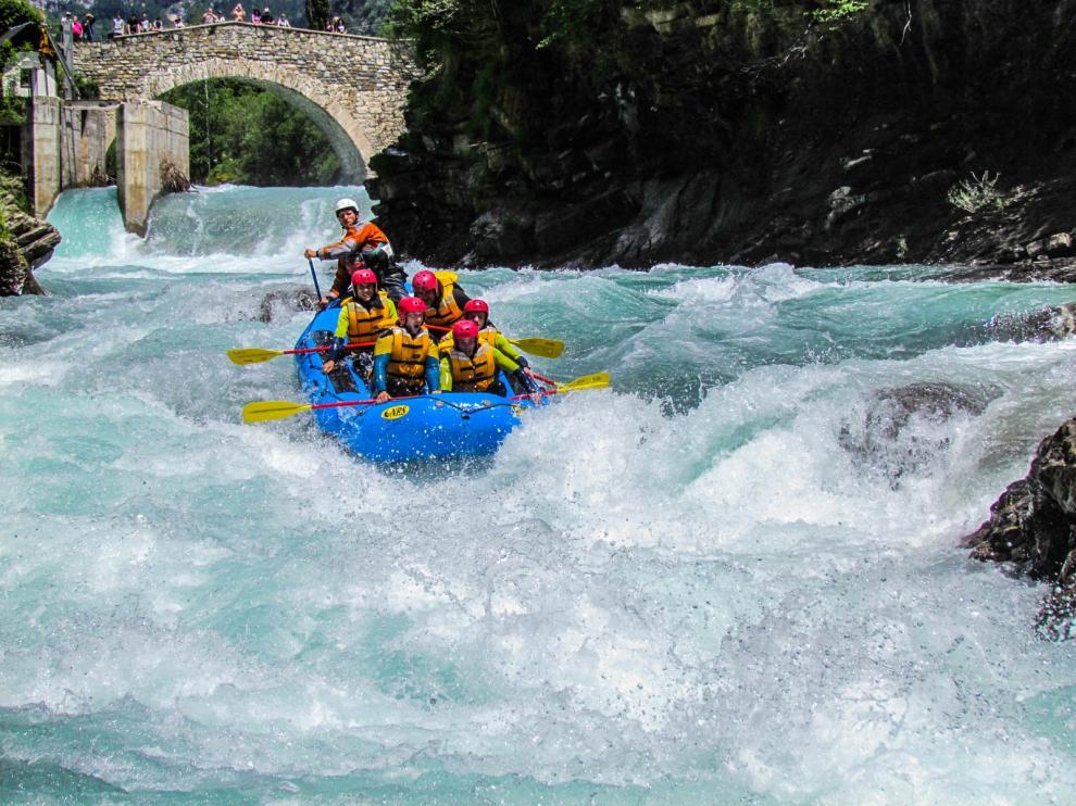Buena temporada para el turismo deportivo aragonés