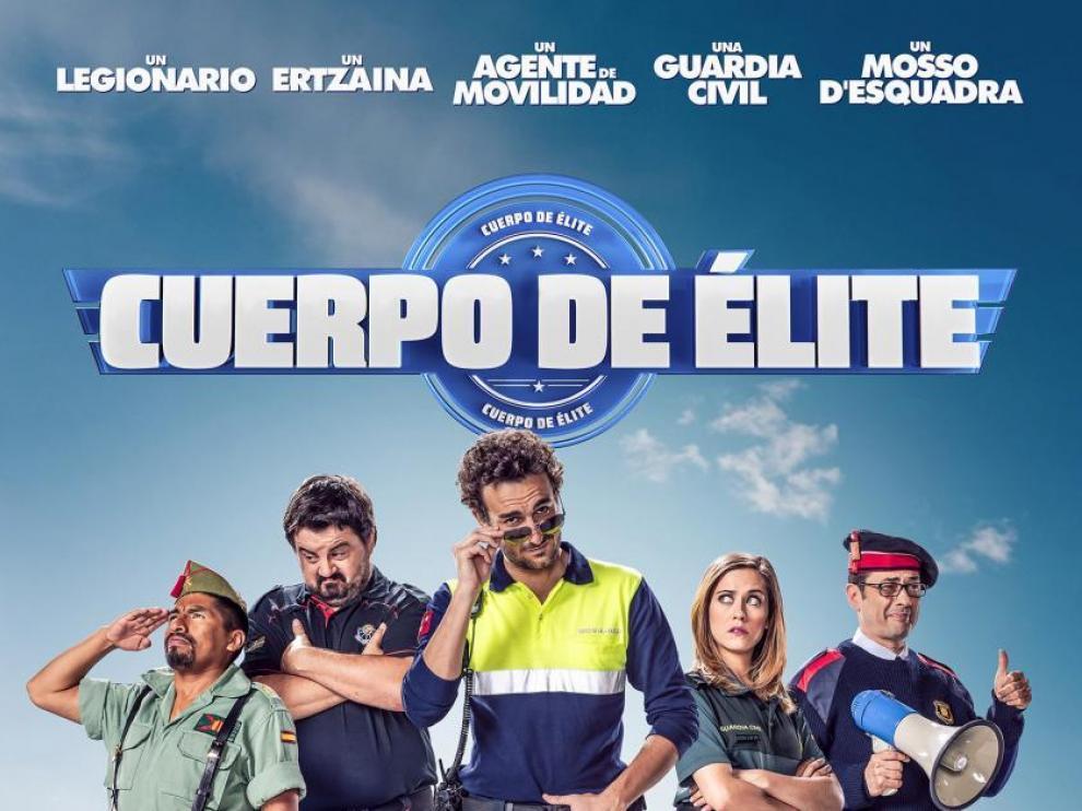 Cartel de la película española 'Cuerpo de élite'.