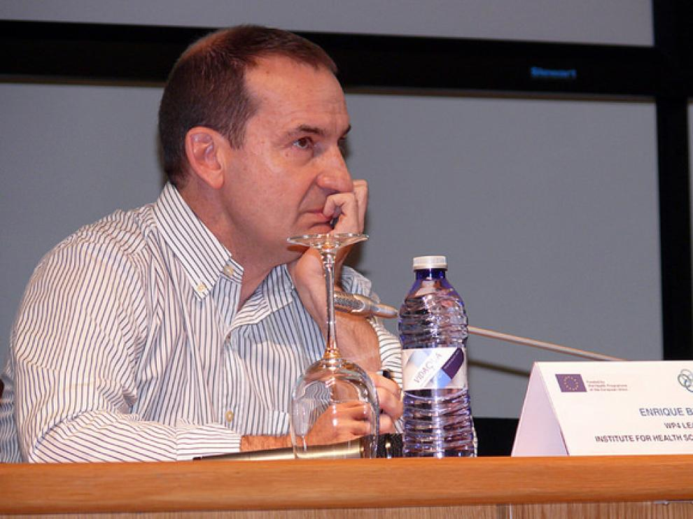 El investigador del Instituto Aragonés de Ciencias de la Salud (IACS) Enrique Bernal.