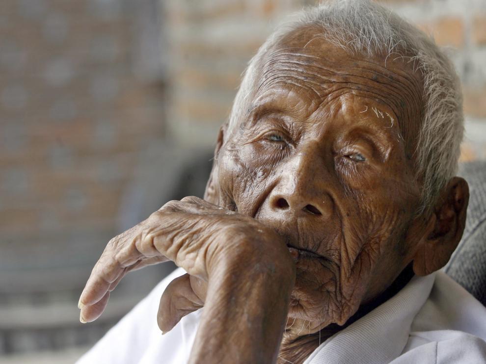 Sodimejo, el hombre más viejo del mundo, tiene 145 años