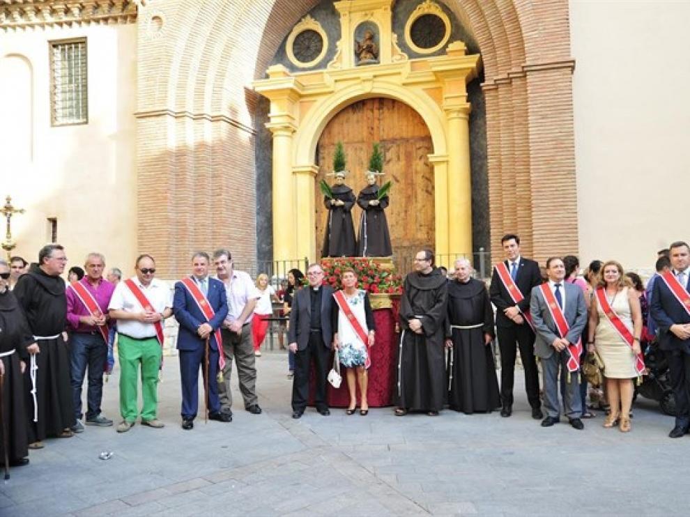 Parte de la procesión en Teruel