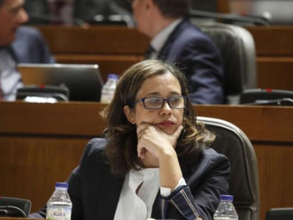 La parlamentaria del PP aragonés Marián Orós.