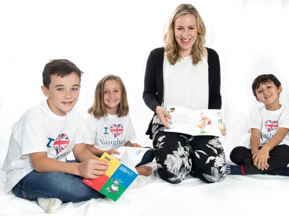 El método Vaughan también está indicado para niños de cualquier edad, a quienes se intenta inculcar la pasión por el inglés.