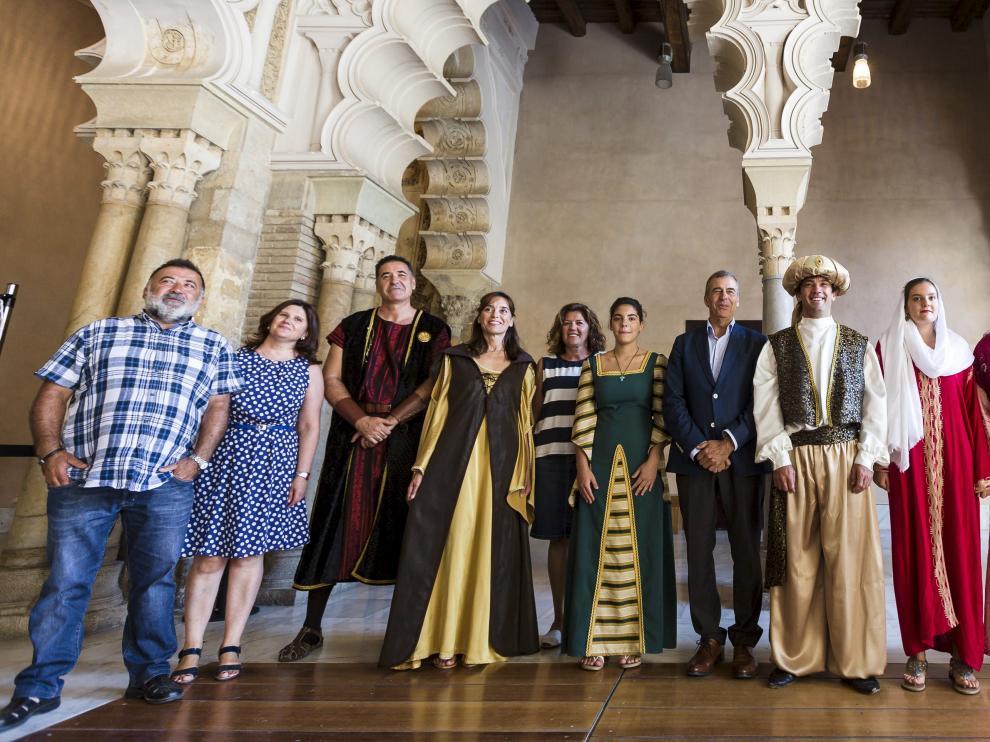 """Presentación de """"la morisma"""" de Aínsa en el Palacio de la Aljafería"""