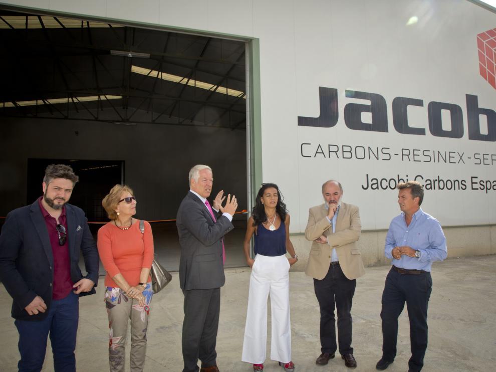 Presentación de las naves de la empresa Jacobi en Calatayud
