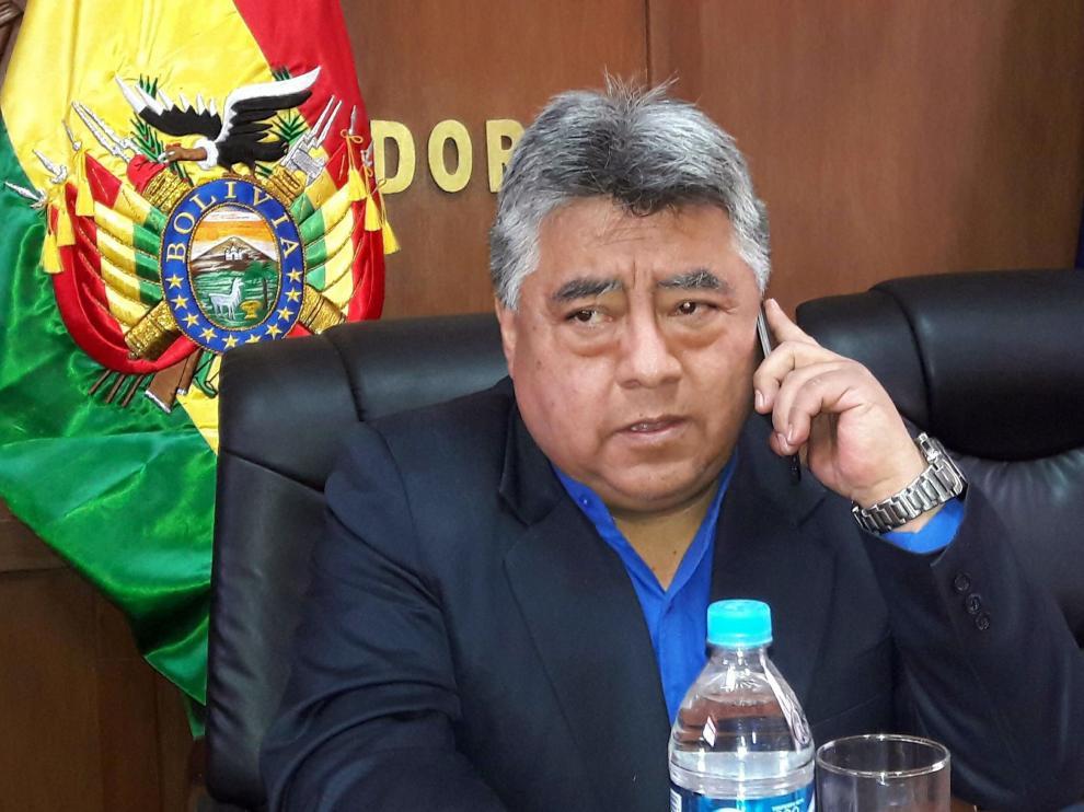 El viceministro boliviano de Régimen Interior, Rodolfo Illanes, fue asesinado el pasado jueves.