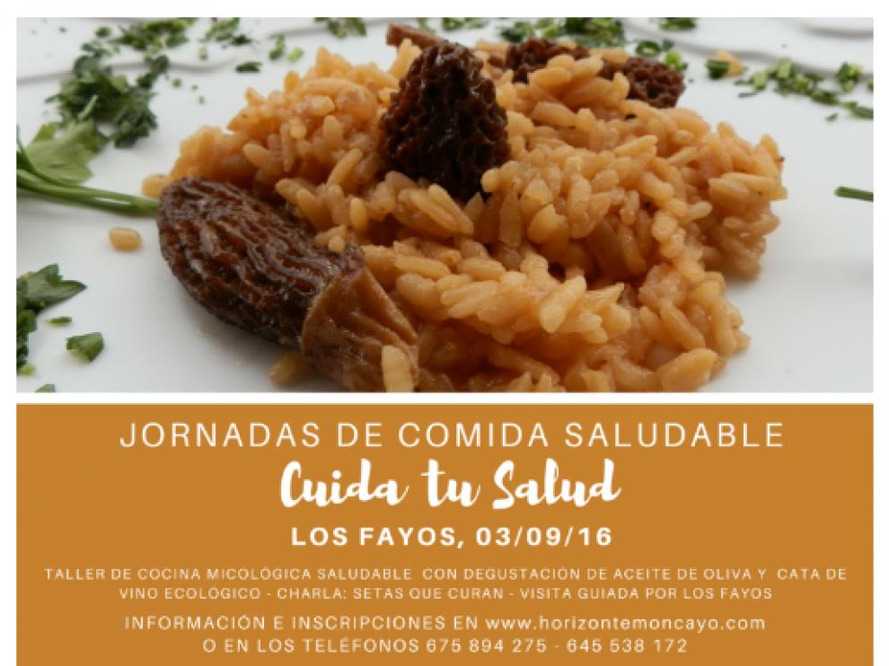 La localidad de Los Fayos acoge unas Jornadas de Comida Saludable este sábado