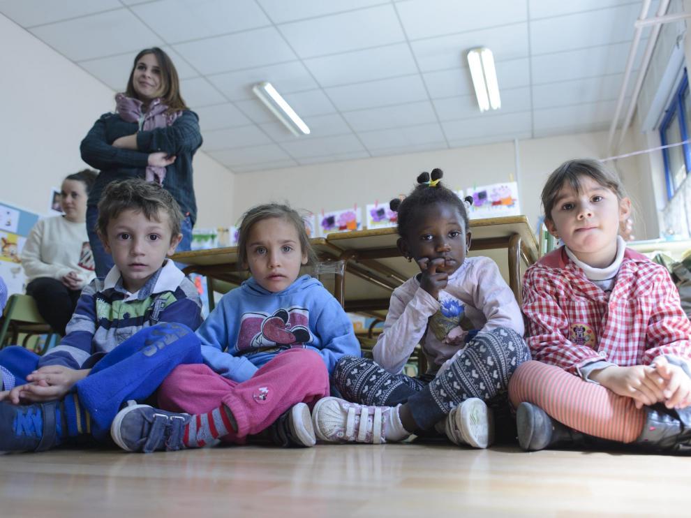 Foto archivo del colegio público  Fernando el Católico