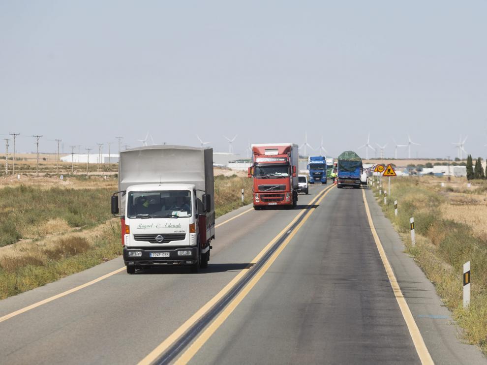 Aliaga reclama urgencia para el desdoblamiento de la N-232 y la N-II tras los nuevos accidentes