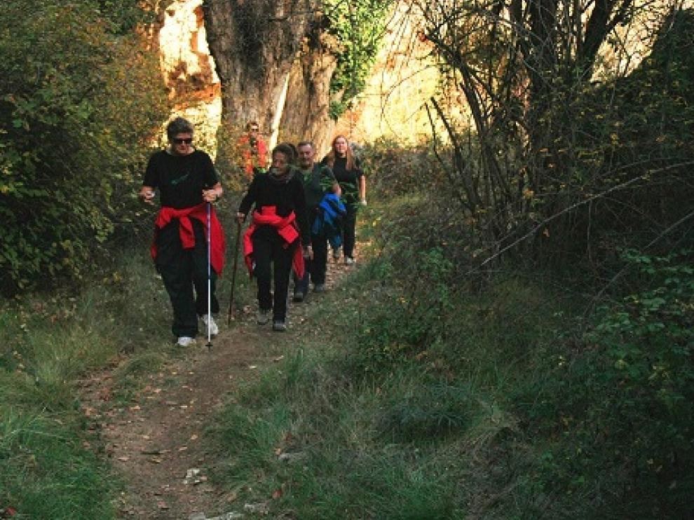 K-Mina es un programa de senderismo que recorre las Cuencas Mineras.