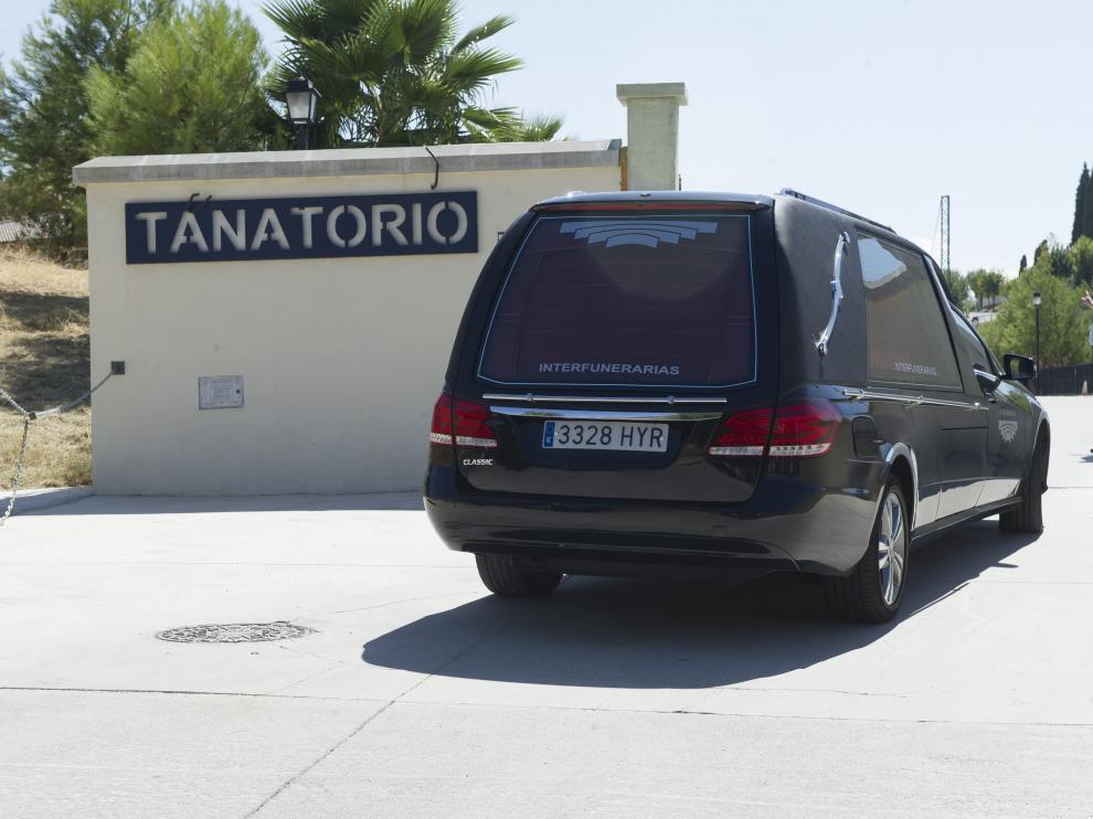 Llegan al tanatorio de Alfacarlos restos mortales de Ana Huete