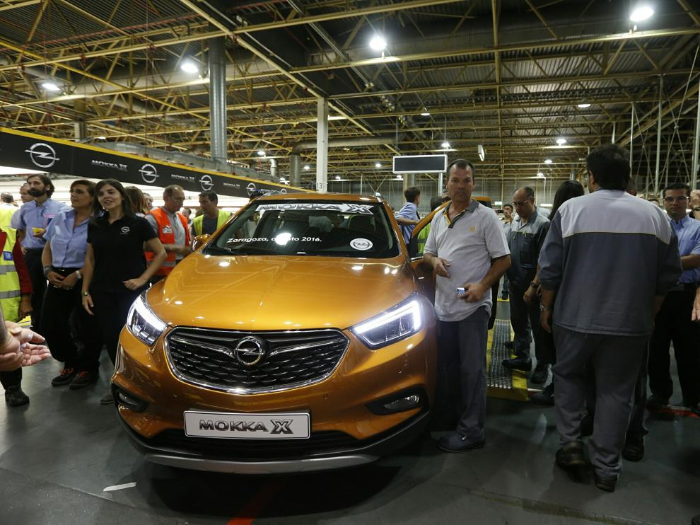 El presidente y consejero delegado de Opel, Karl-Thomas Neumann, ha participado en el acto oficial del lanzamiento del nuevo Opel Mokka X.