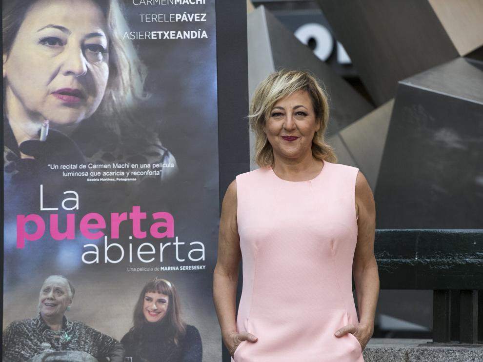 """Carmen Machi: """"No entiendo que el cine se aparte de la cultura"""""""