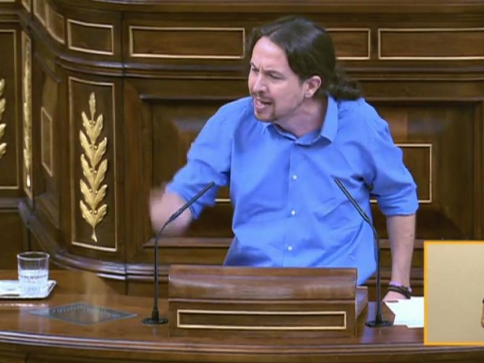 """Iglesias: """"Con ustedes no vamos ni a la vuelta de la esquina. Son corrupción"""""""