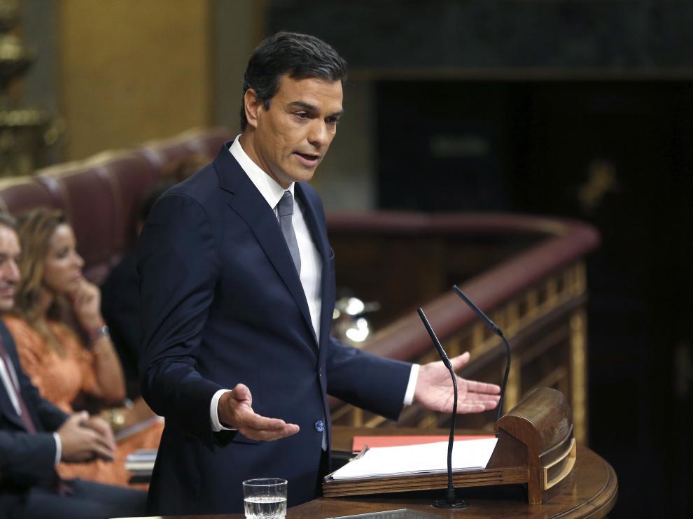 """Sánchez: """"Hay vida más allá del señor Rajoy"""""""