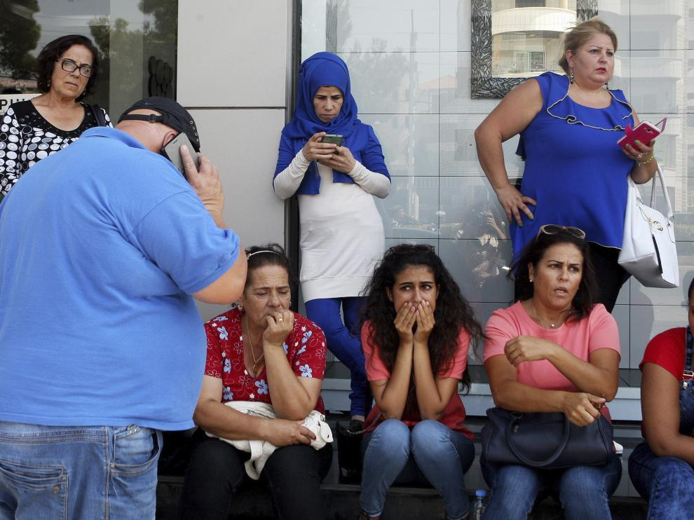 Un muerto y once heridos al explotar una bomba en el este del Líbano