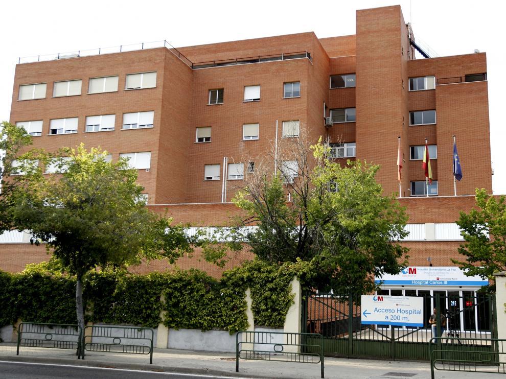 El sanitario ha abandonado ya la Unidad de Aislamiento del Hospital La Paz-Carlos III.