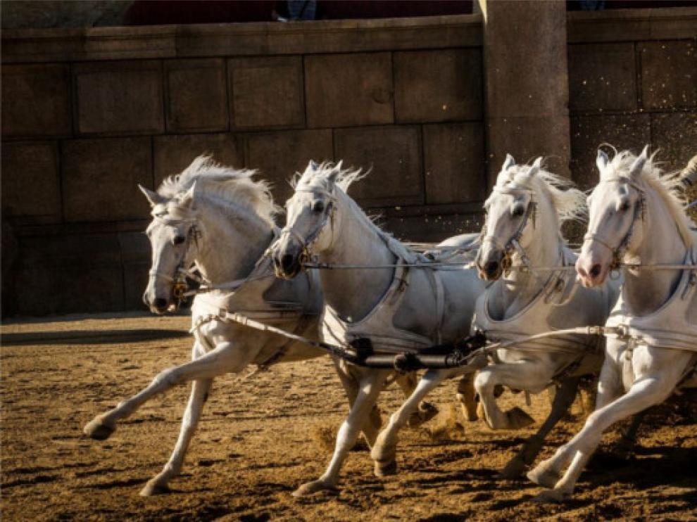 La nueva versión de 'Ben-Hur' se estrena este viernes.