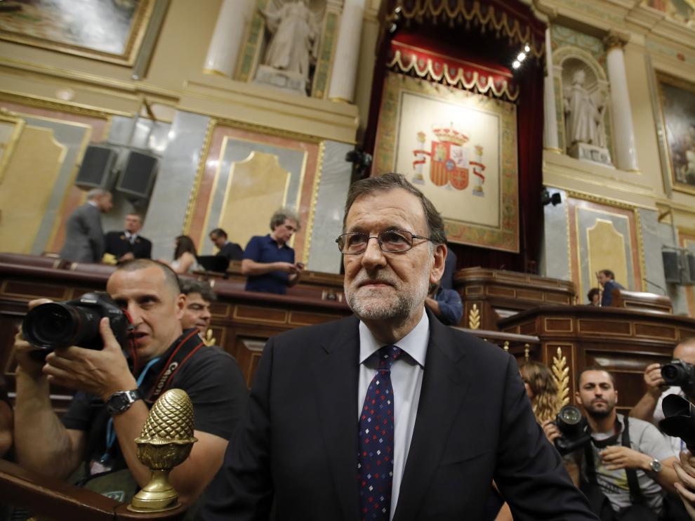 Rajoy, este viernes en el Congreso