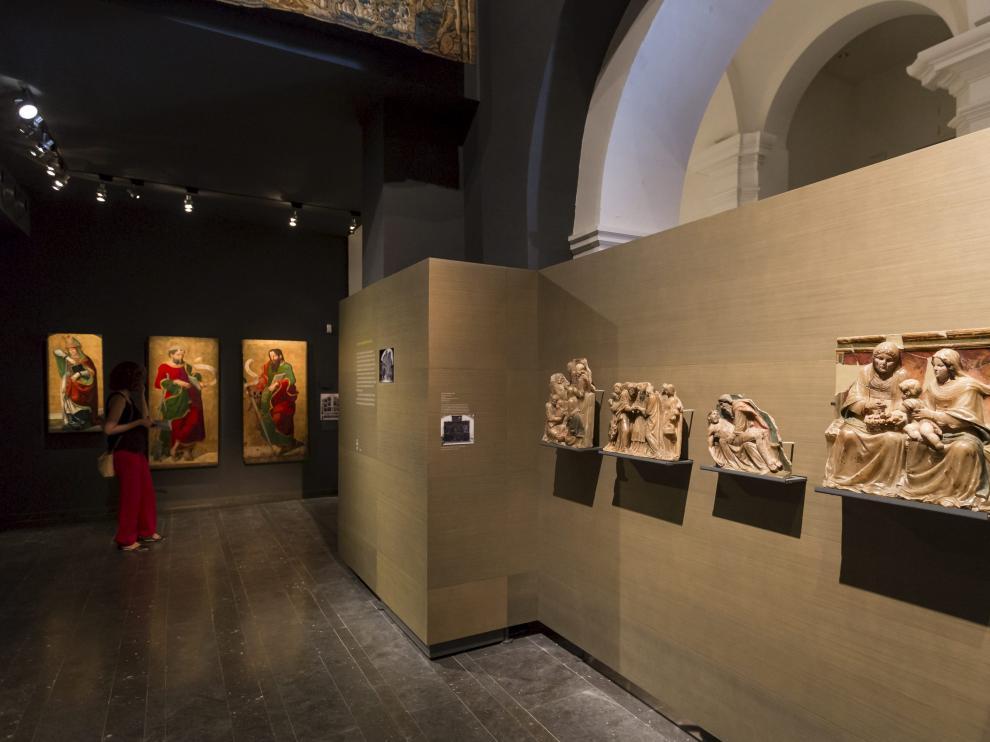 Las obras de arte de Sijena en el Museo de Lérida.