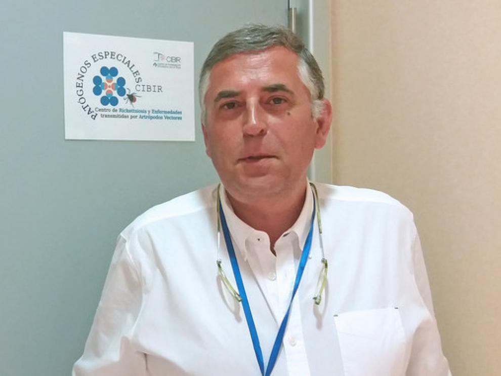 José Antonio Oteo es jefe del Área de Gestión Clínica de Enfermedades Infecciosas del Hospital San Pedro de La Rioja.