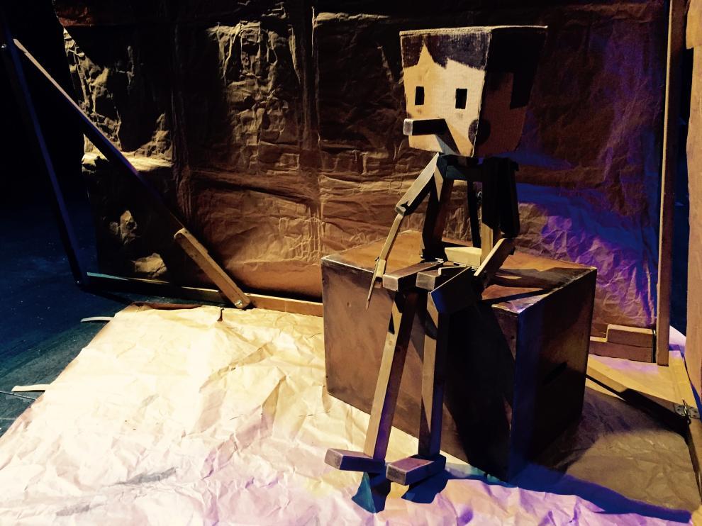 Imagen de 'Pinocchio', obra que puede disfrutarse en el Teatro de las Esquinas en septiembre.