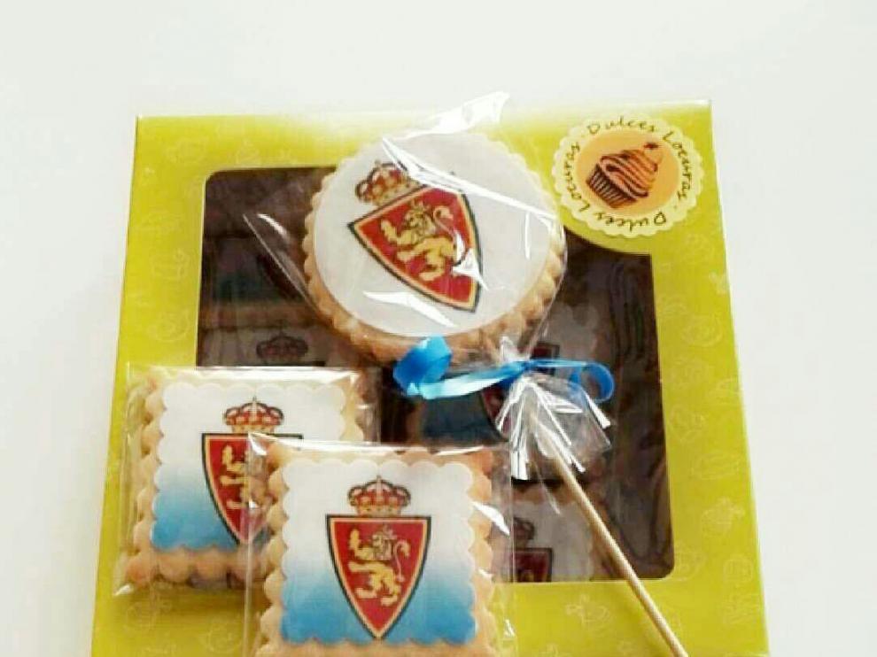 'Pirugalletas' del Real Zaragoza de Dulces Locuras.