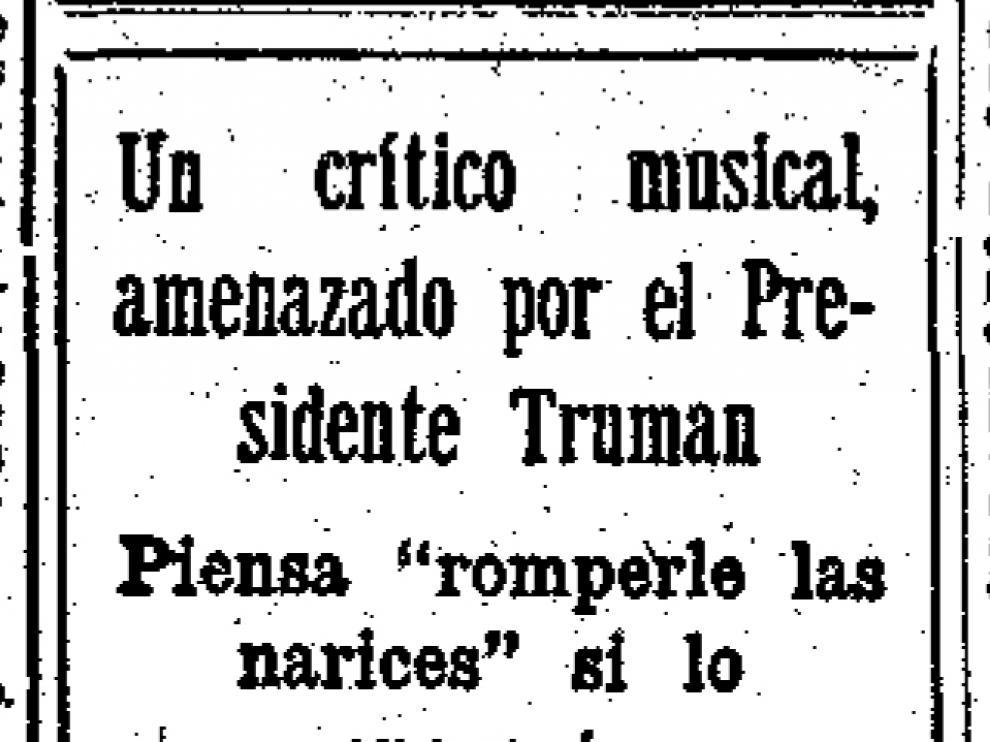 Noticia publicada hace 50 años.