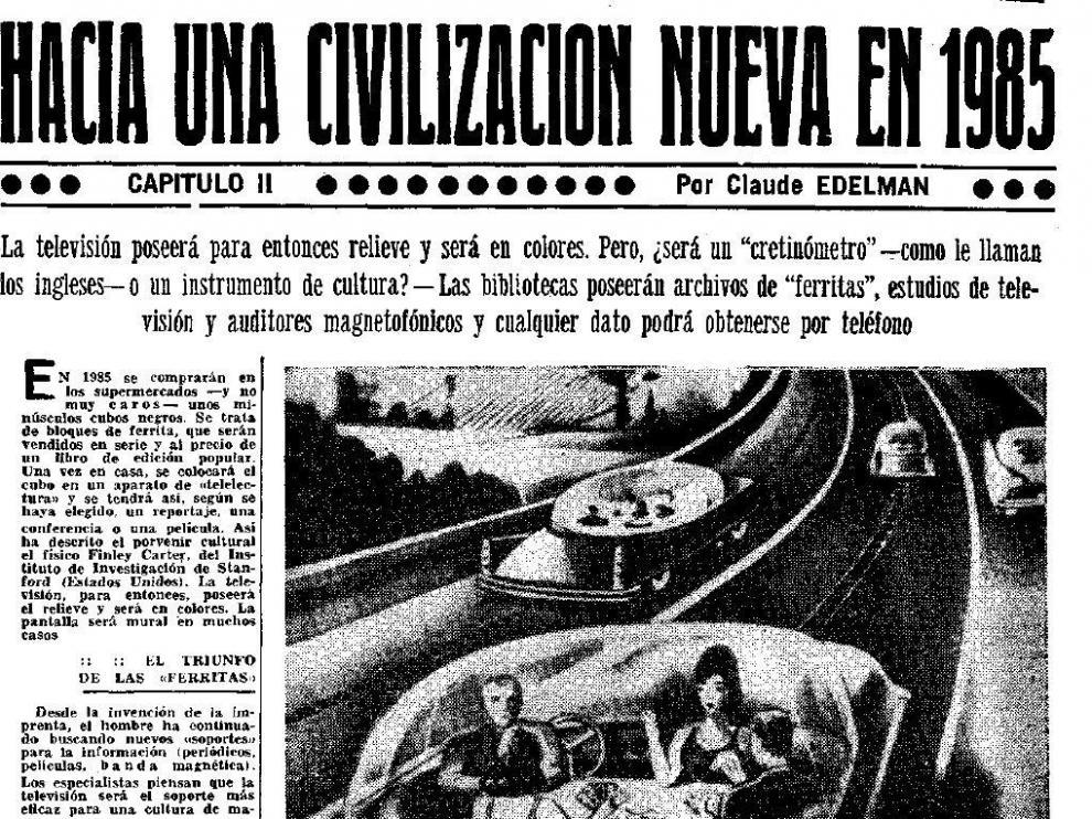 Noticia publicada en 1966 en HERALDO