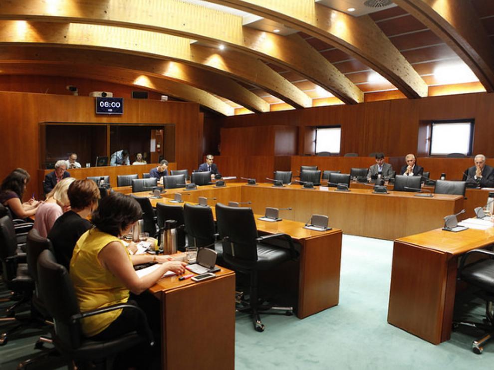 Apoyo de los grupos parlamentarios del Pacto por la Ciencia en las Cortes de Aragón.