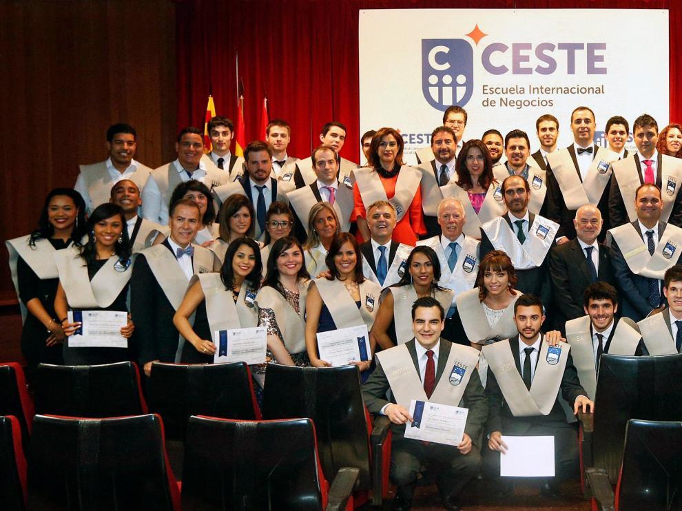 Promoción de alumnos de CESTE.