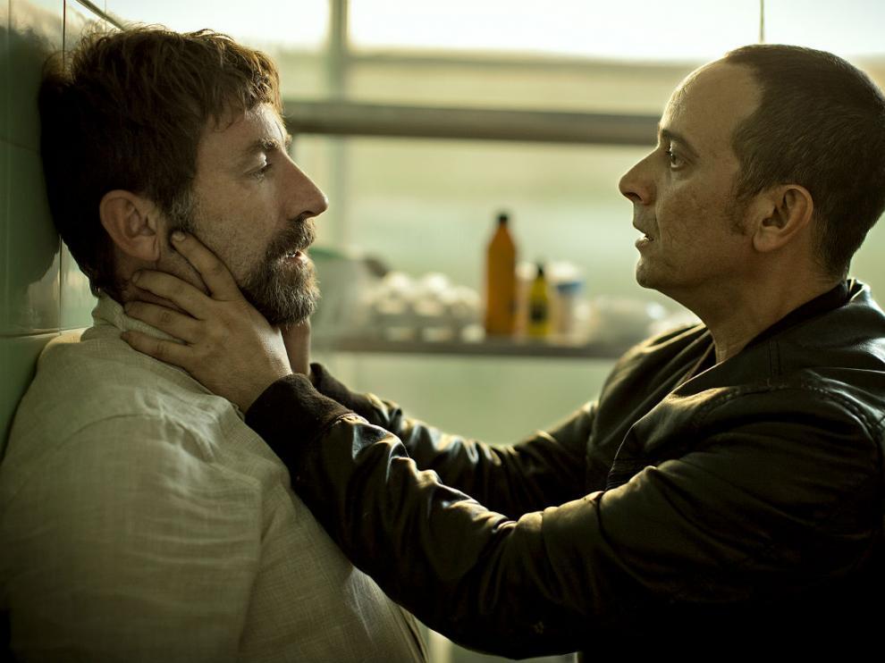 Imagen de 'Tarde para la ira', debut en la dirección de Raúl Arévalo