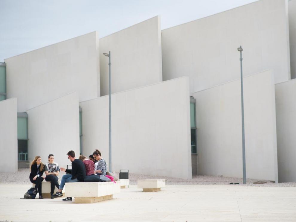 La Universidad San Jorge en una imagen de archivo.