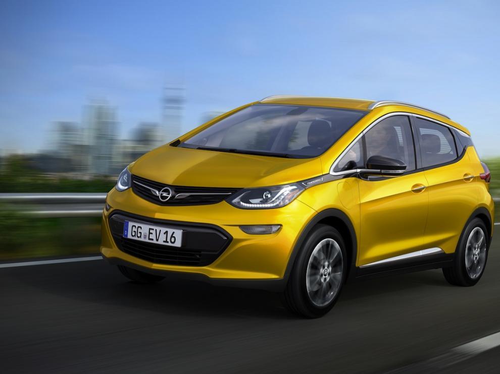 Opel presentará su nuevo modelo eléctrico, Ampera-e, en el próximo Salón Internacional del Automóvil de París.