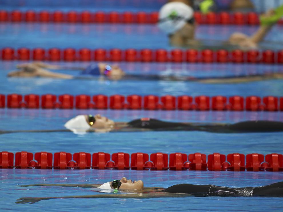 La piscina olímpica de Río, foco de todas las miradas
