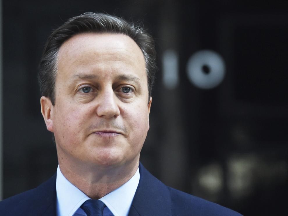 El exprimer ministro británico, David Cameron.