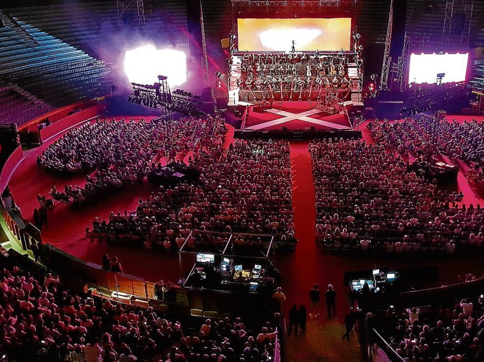 La plaza de toros de Valencia albergó el espectáculo sinfónico de Ara Malikian el pasado domingo 11 de septiembre.