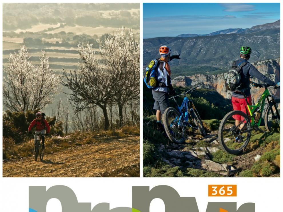 Los turoperadores han conocido el atractivo del cicloturismo en el Prepirineo.