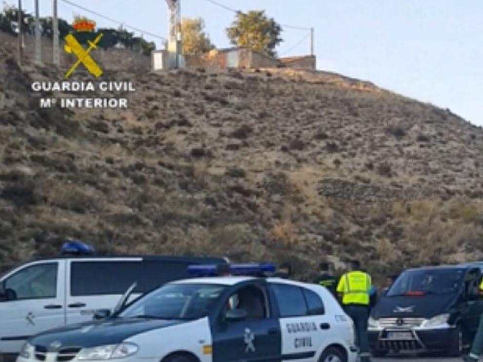 Liberación en Villastar de una menor secuestrada en Navarra