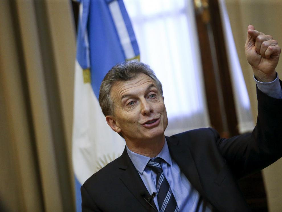 Foto de archivo del presidente de Argentina, Mauricio Macri.