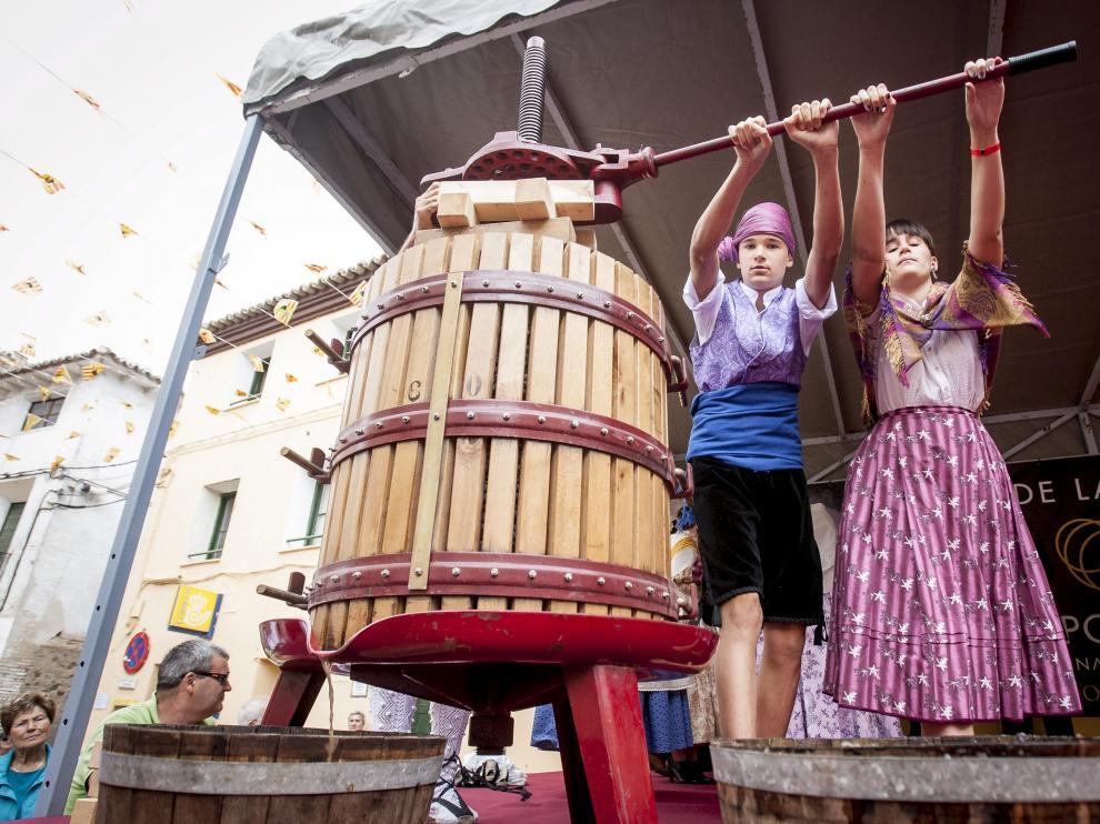 Fiesta de la vendimia en la DO Campo de Borja
