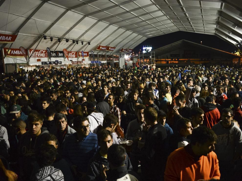 Los conciertos de las fiestas del Pilar 'dividen' a los zaragozanos en función de la edad