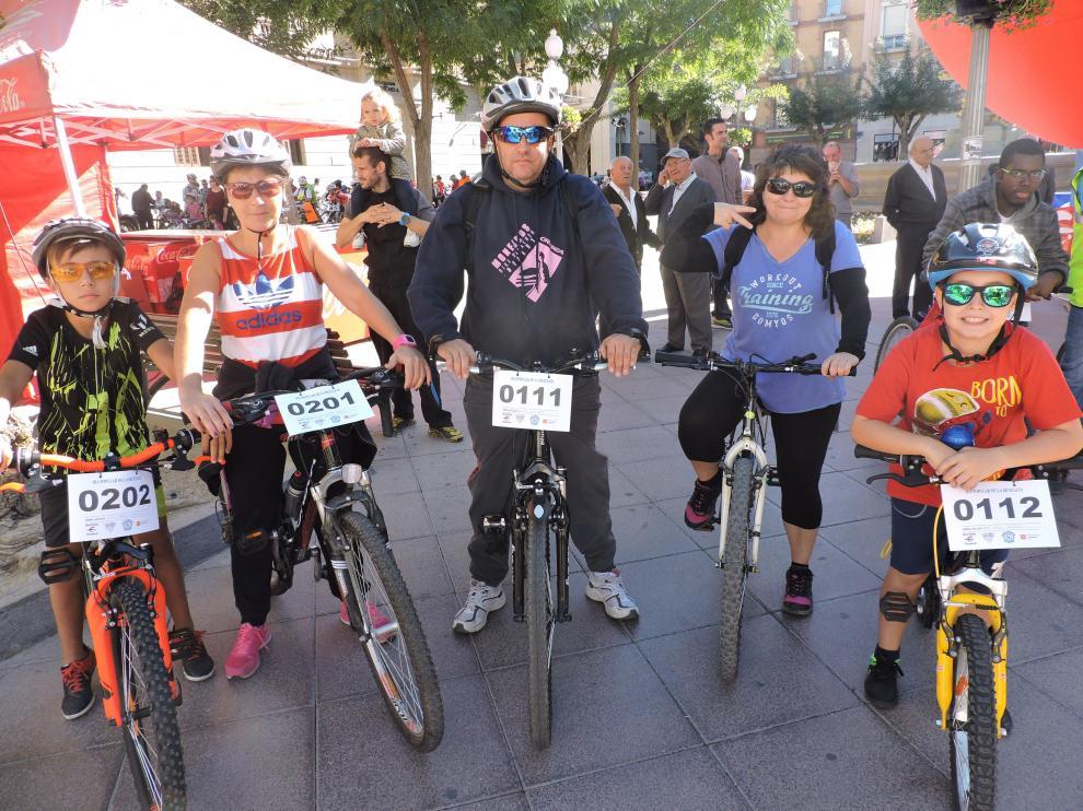 Día de la bici en Huesca