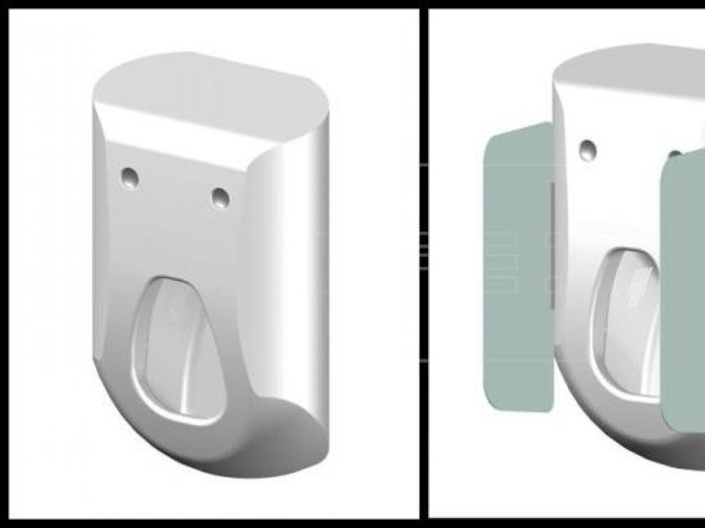 Un prototipo valenciano de urinario 2.0 lava y seca el pene en pocos segundos