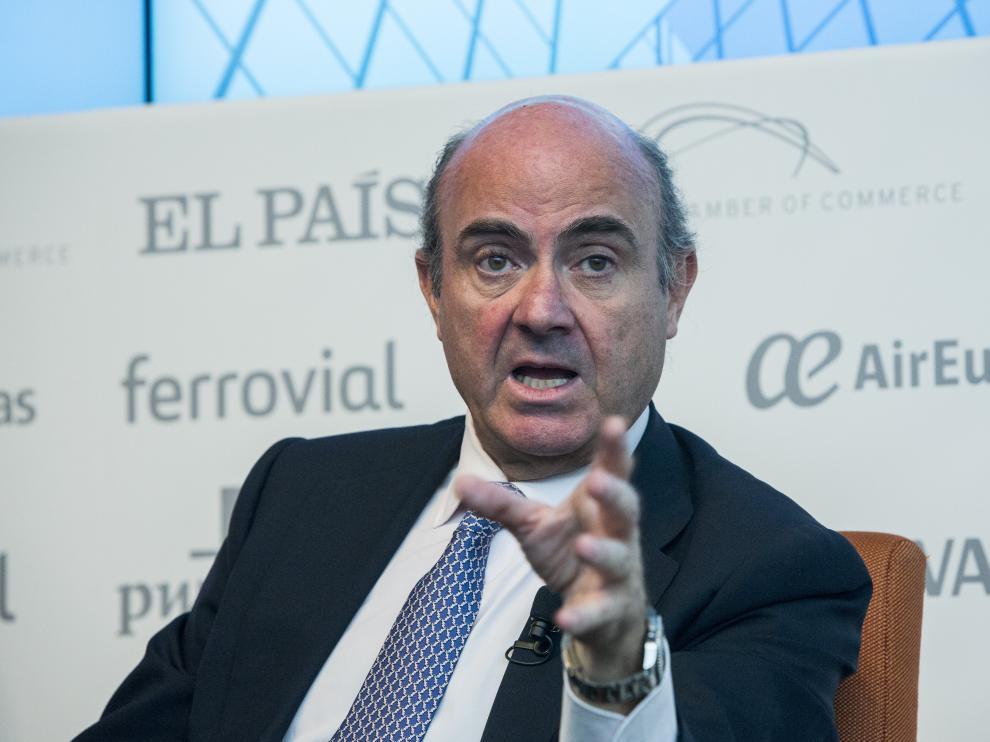 Luis de Guindos en una imagen de archivo.