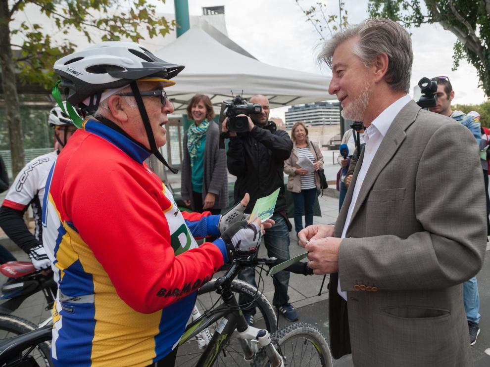 Desayuno gratis para quienes se desplazan en bicicleta por Zaragoza