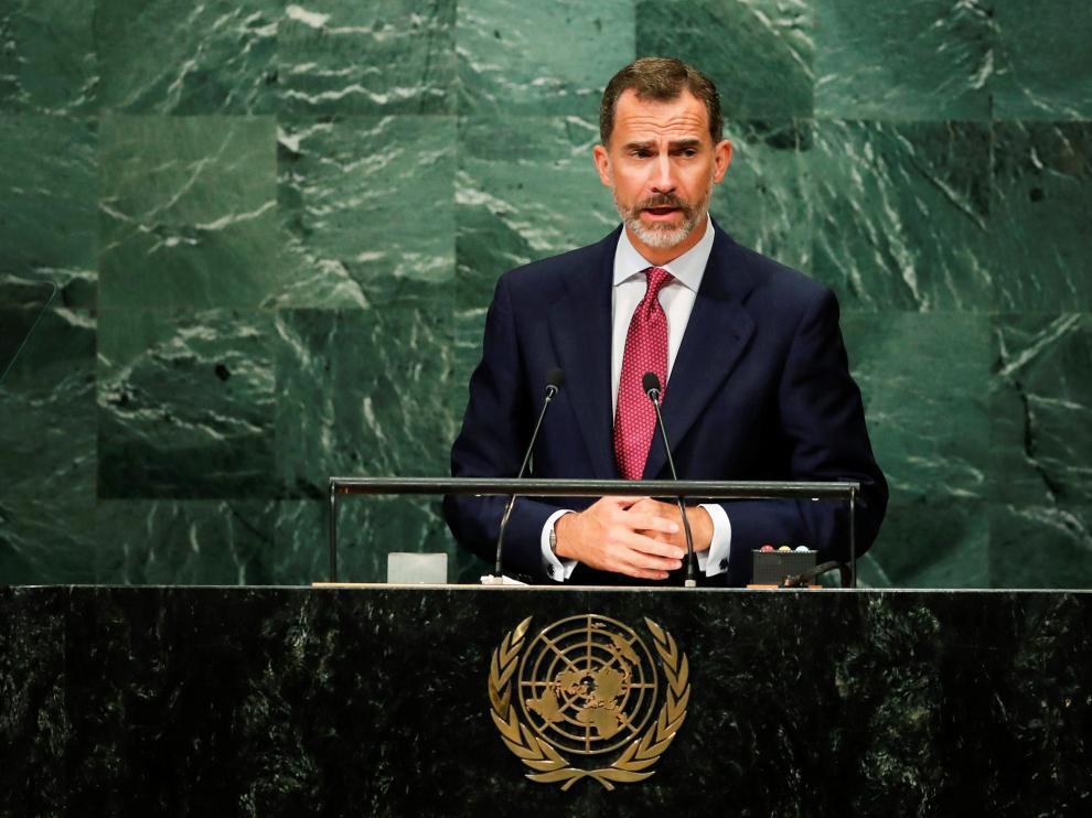 El Monarca, en la ONU