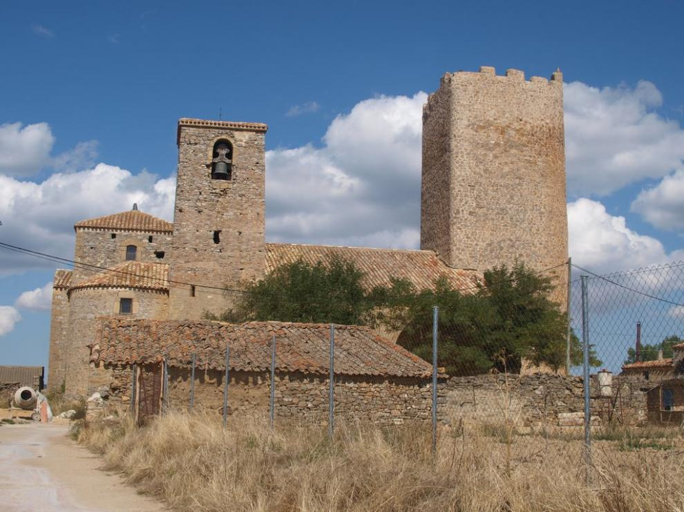 Iglesia de Nuestra Señora de la Asunción, de la localidad soriana de Hinojosa del Campo,